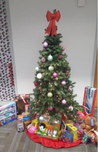 Christmas tree Toys for Tots